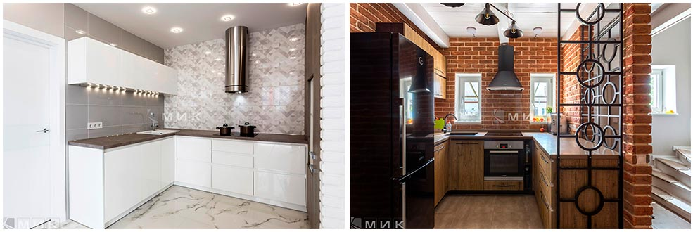 кухни-без-верхних-шкафов-на-одной-стене