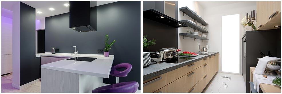 кухни-модерн-без-навесных-шкафов