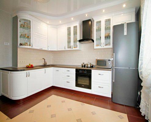 кухня-белая-краска