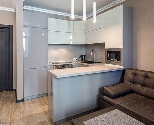 кухня-бело-серая