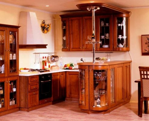 кухня-из-дерева-фото