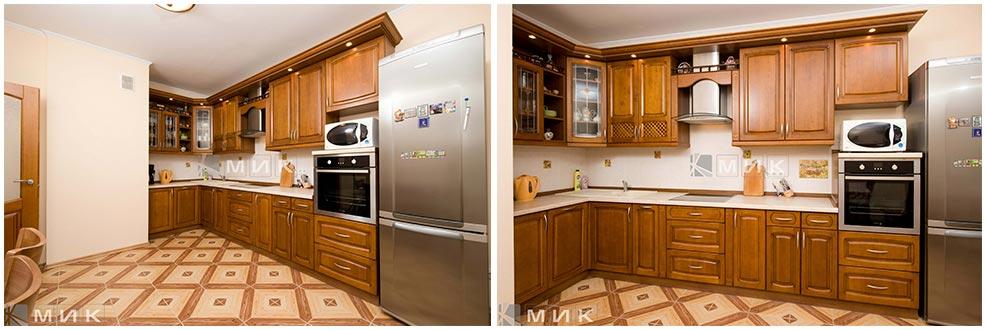кухня-из-дерева-угловая