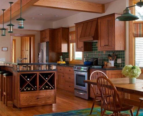 кухня-из-массива-дерева