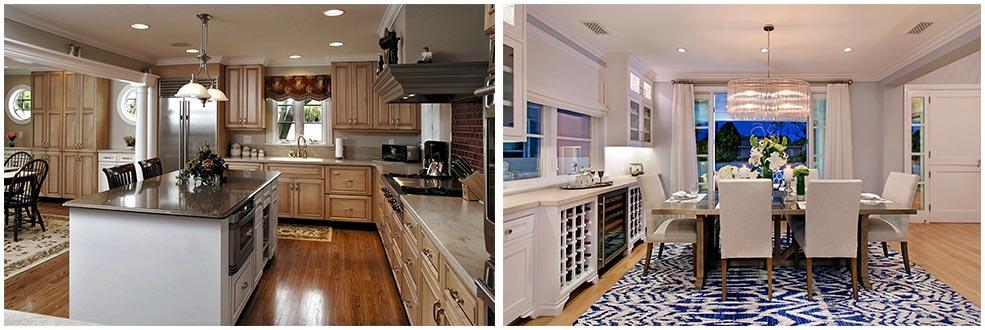 кухня-под-потолок-в-классическом-стиле
