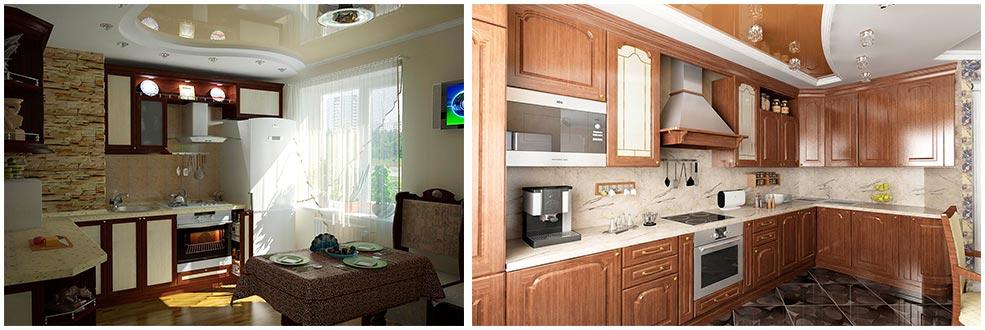 кухонные-шкафы-до-потолка-фото