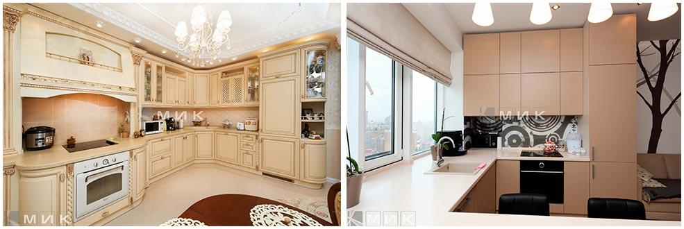 кухонные-шкафы-под-потолок-фото