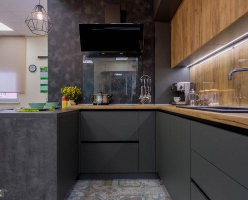 кухонный-гарнитур-2017-фасады без ручек