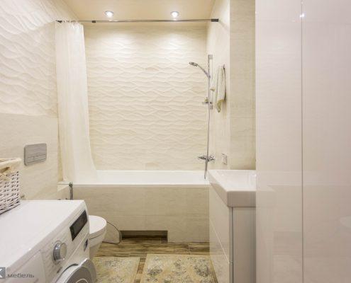 Белая-ванная комната