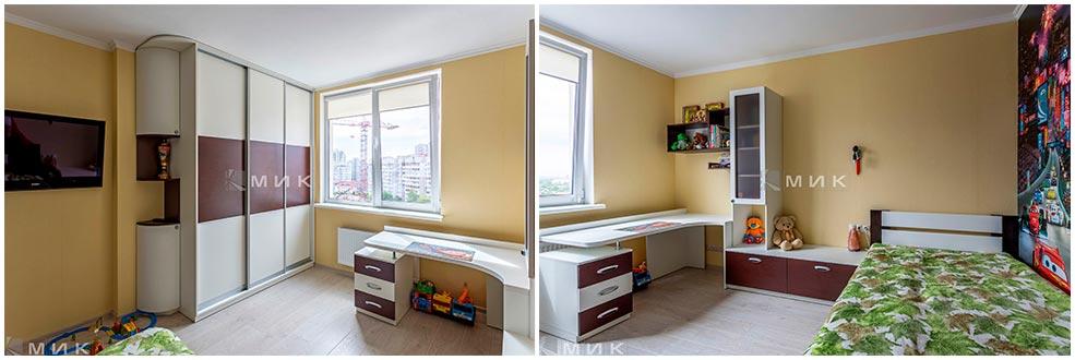 Детская-комната-мальчика-в-зелёных-тонах