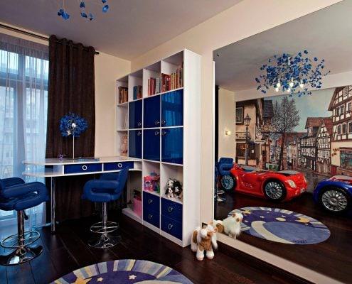 детская-комната-в-синем-цвете