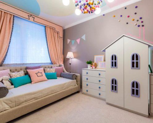 дизайн-детской-мебели-для-девочки