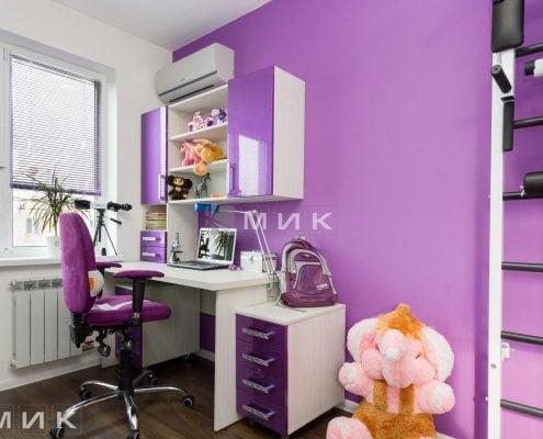 фиолетовая-детская-мебель-для-девочек