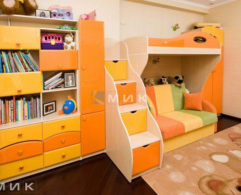 комплект-детская-мебель-для-девочки-фото