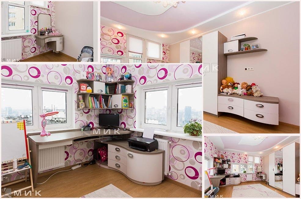 комплект-детской-мебели-в-розовых-тонах