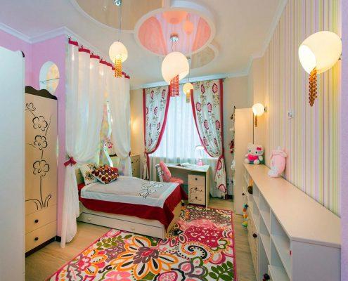 мебель-для-детской-в-бежевом-цвете