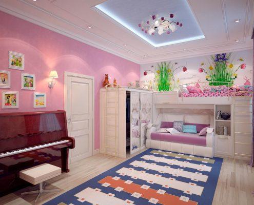мебель-в-детскую-для-девочки-подростка