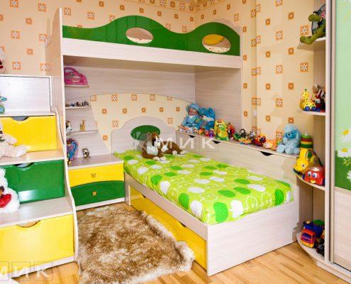 жёлтая-детская-мебель-фото