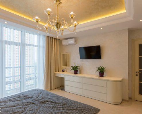 Бежевая-мебель-для-спальни-из-крашенного-МДФ-1005