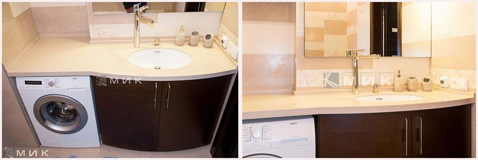 фото-мебель-для-ванной-коричневая
