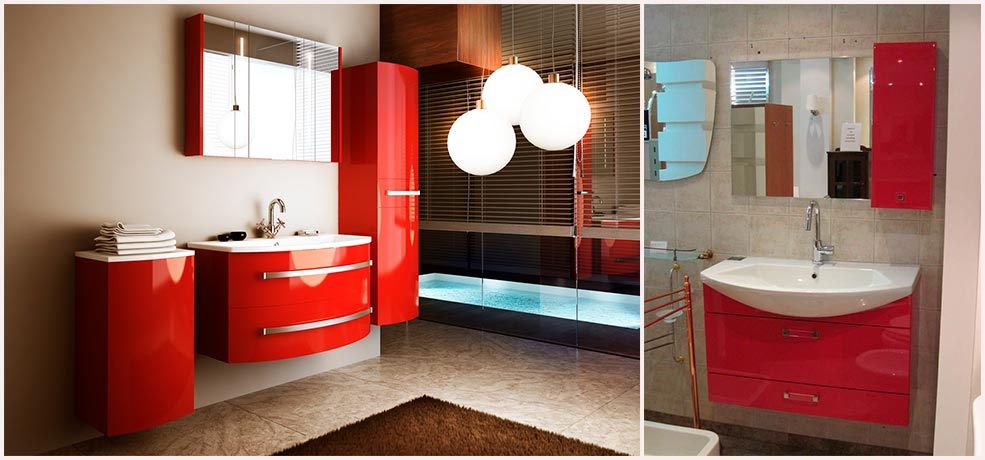 красная-мебель-для-ванной