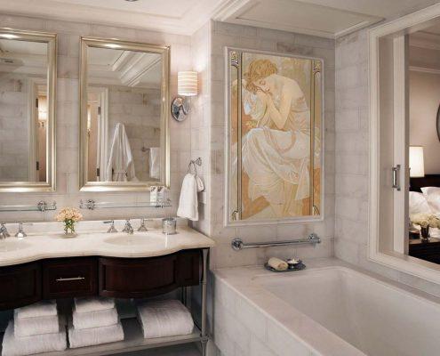 мебель-в-ванную-комнату-классика-киев
