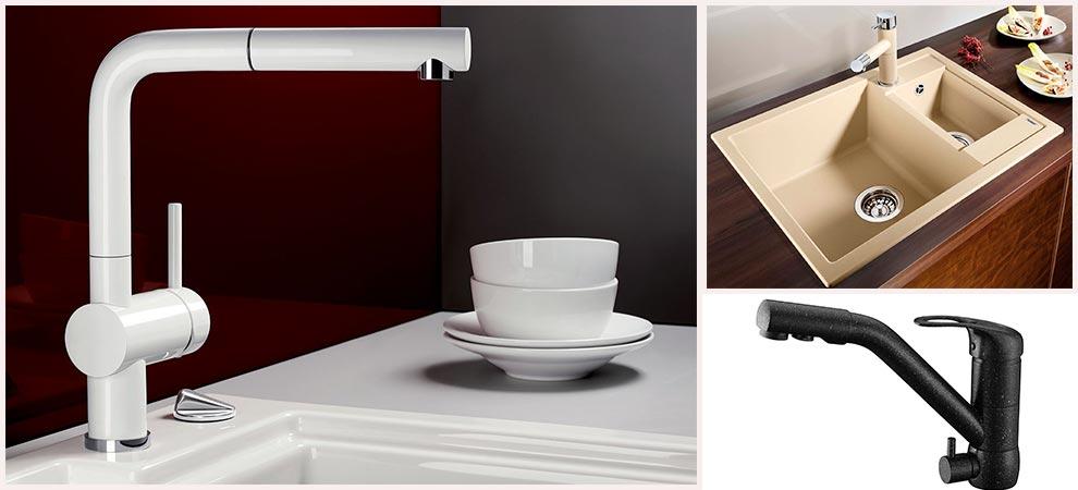 кухонный-смеситель-керамика-камень-фото