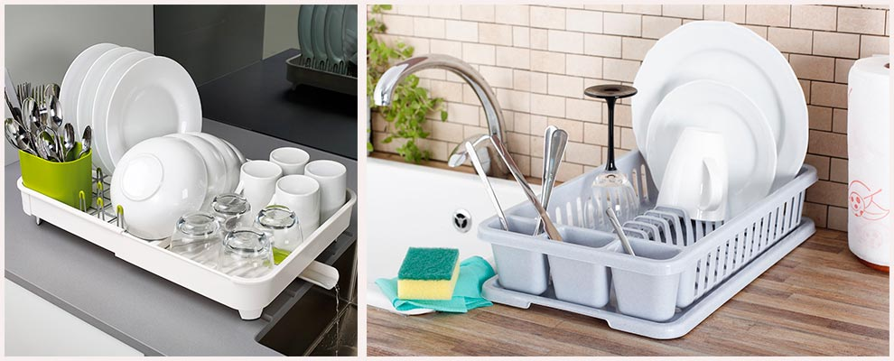 пластиковая-сушилка-для-посуды-на-кухне
