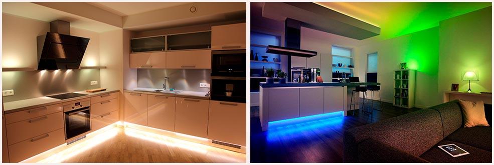 подсветка-под-кухней-фото-в-интерьере