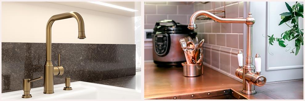 смеситель-на-кухню-латунь-классика-фото