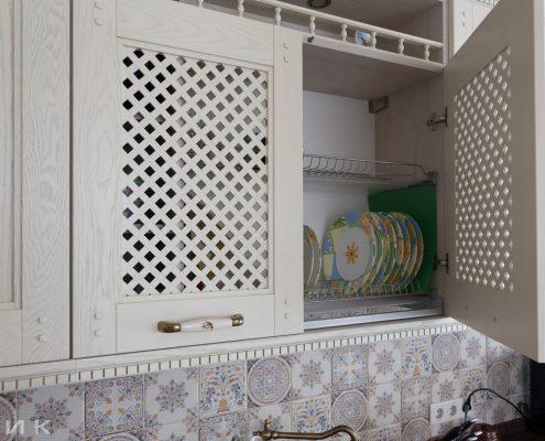 сушка-для-посуды-латунь-встроенная-фото