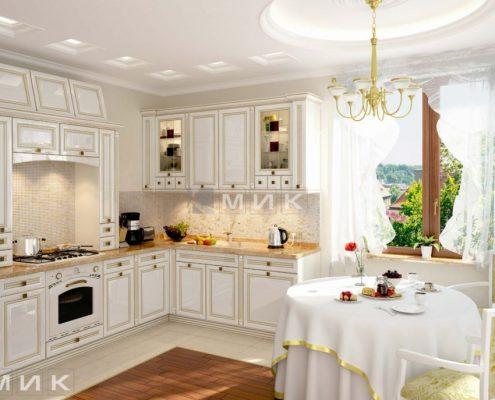 дизайн-встроеная-кухня-классика-фото