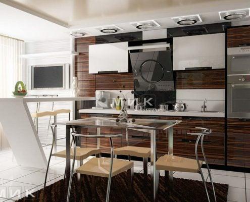 дизайн-встроенной-кухни
