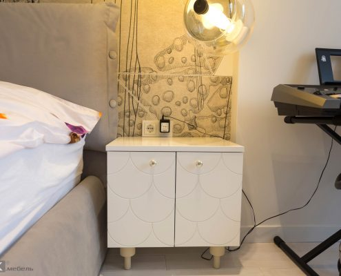 дизайнерская-тумба прикроватная для детской комнаты девочки