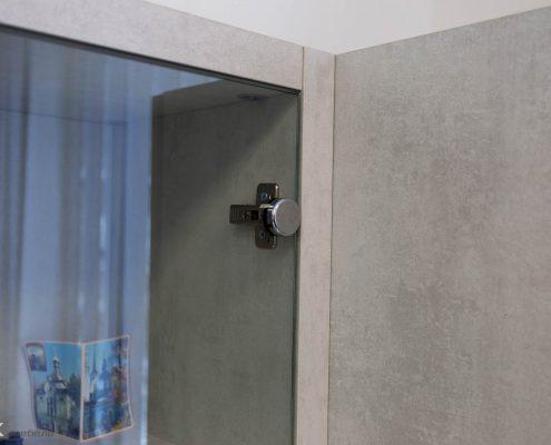 петля для стекла в офисной мебели