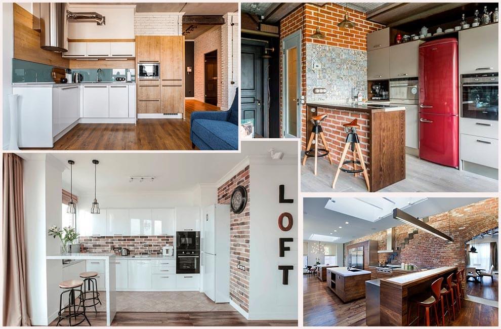 кухни-в-стиле-лофт-2018-фото