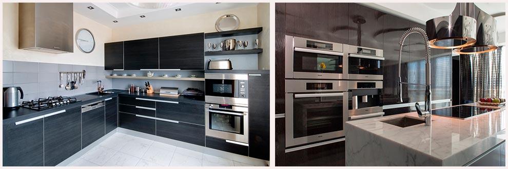 стильная-кухня-со-встроенной-техникой-фото