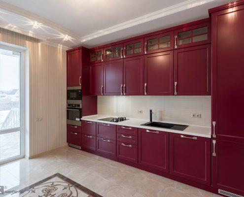 кухня-бордо