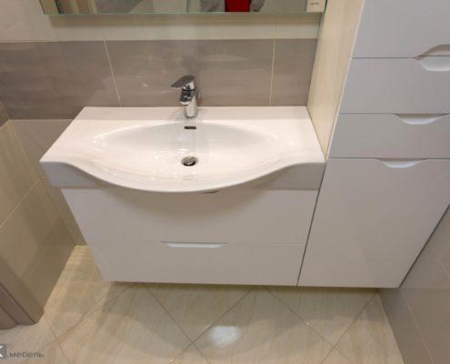 Белая-тумаб-для-ванной-комнаты-1001