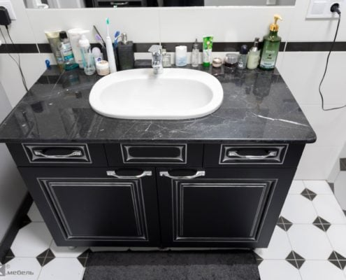 Черная-тумба-МДФ в-ванную-комнату-1001
