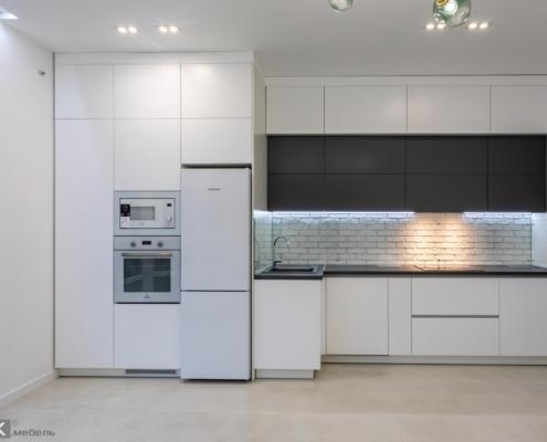 Пряма кухня дизайн Мік Меблі