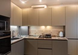 Угловая кухня с газ. котлом
