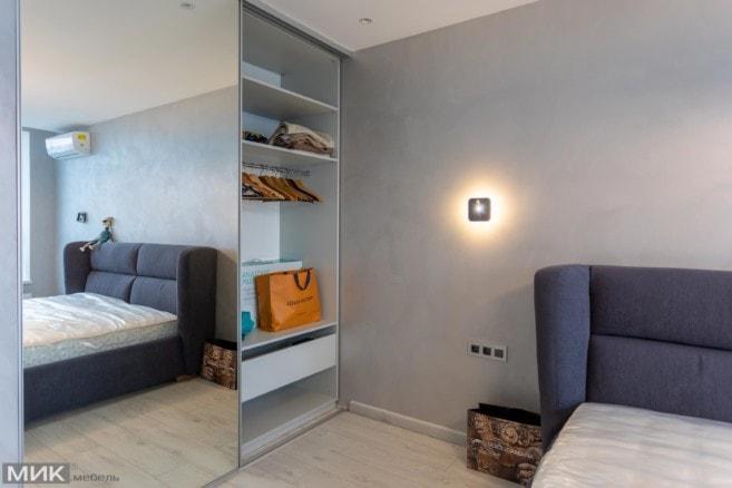 10-шкаф купе в нутри для спальни