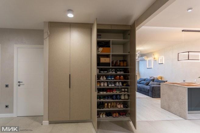 2-распошной шкаф для обуви в коридор