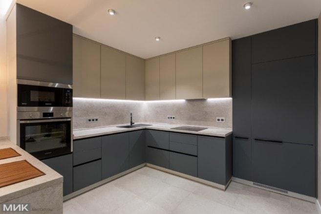5-Кухня угловая Fenix NTM