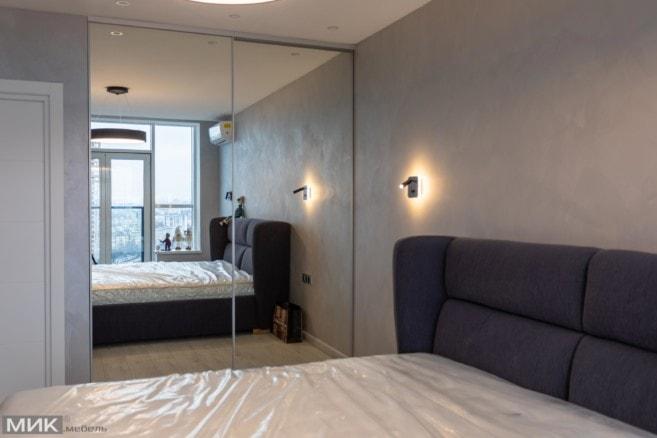 7-встроенный шкаф купе спальня
