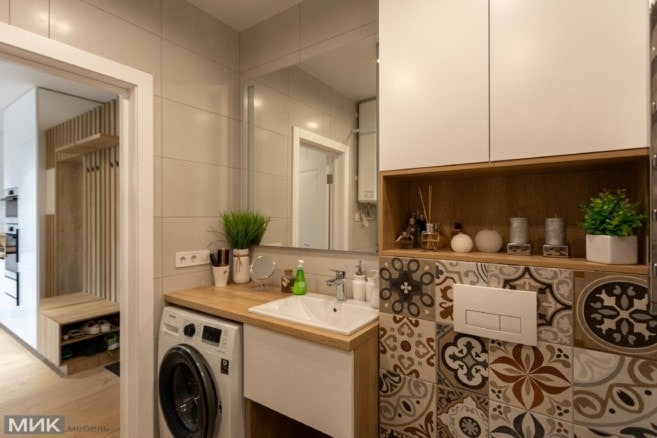 1-Мебель для ванной на заказ